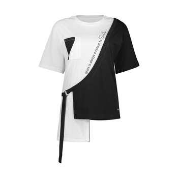 تی شرت  ورزشی زنانه پانیل مدل 191BK