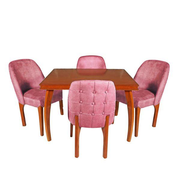 میز و صندلی ناهارخوری چوبکو مدل 675_4