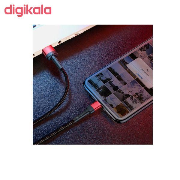 کابل تبدیل USB به لایتنینگ باسئوس مدل CALKLF-HG1 Cafule Special Edition طول 2 متر main 1 7