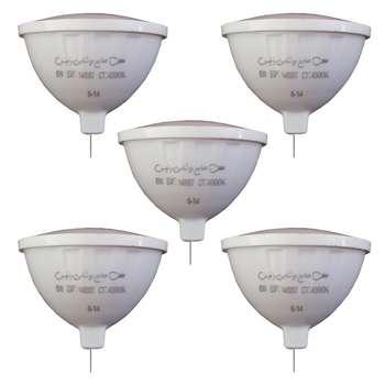 لامپ هالوژن ۶ وات زانیس مدل ZS-106 پایه GU5.3 بسته 5 عددی