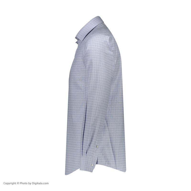 پیراهن آستین بلند مردانه ال سی من مدل 02181095-BLUE153