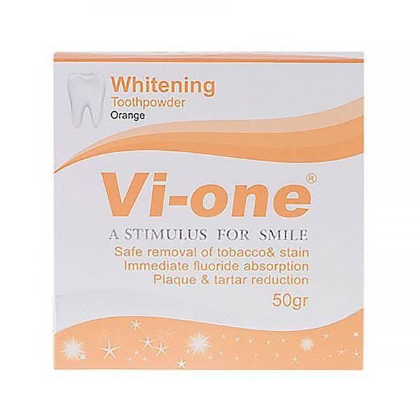 پودر سفید کننده دندان وی وان مدل Orange وزن 50 گرم مجموعه 2 عددی -  - 4