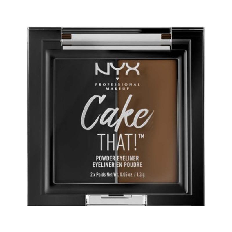 پالت خط چشم نیکس مدل Cake That شماره 01