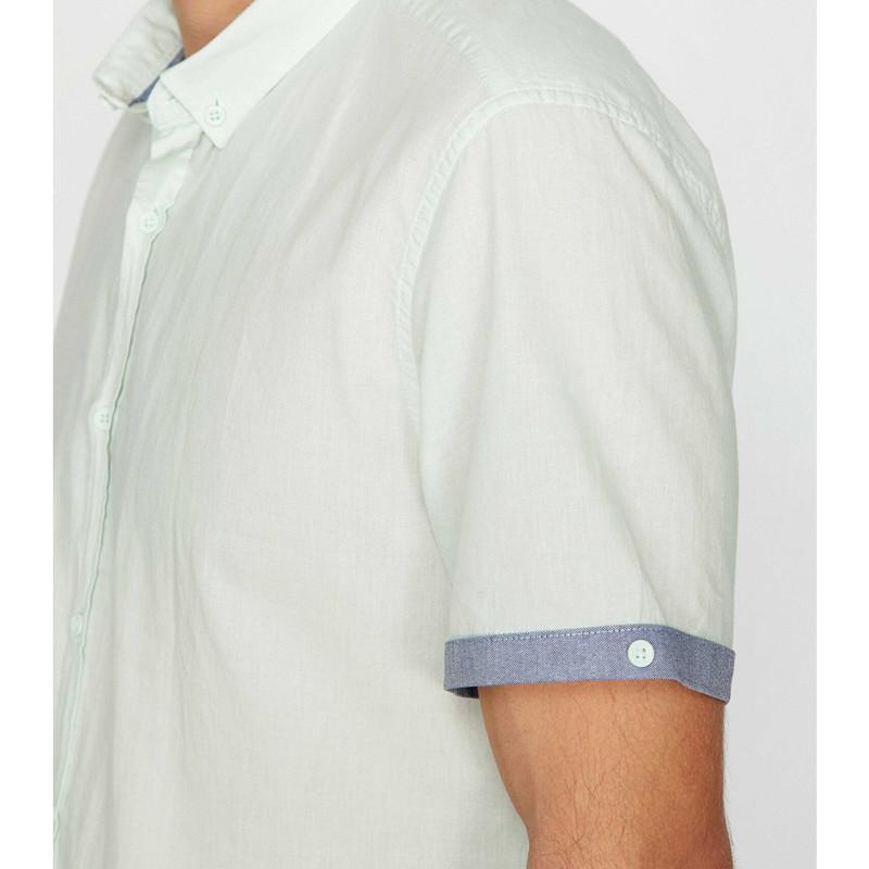 پیراهن آستین کوتاه مردانه کوتون مدل 8YAM61081BW-660
