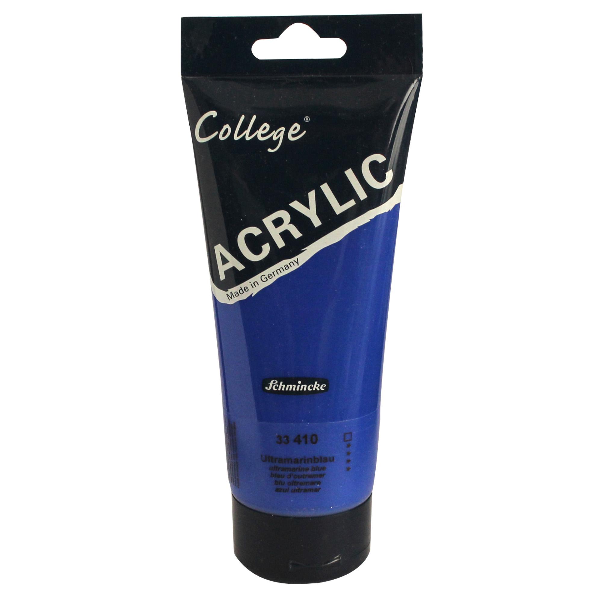 رنگ اکریلیک اشمینک مدل College کد 33410 حجم 200 میلی لیتر