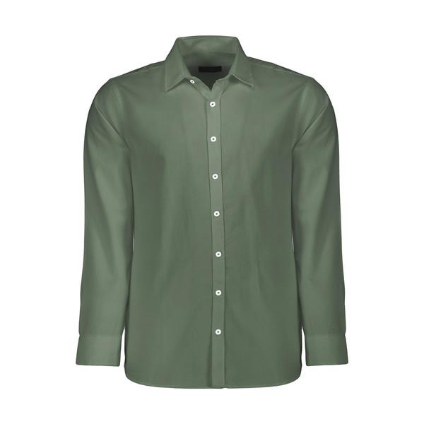 پیراهن مردانه کالینز مدل 142112102-D.Khaki