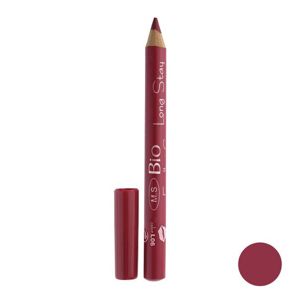 رژ لب مدادی بی یو مدل لانگ استار شماره L06