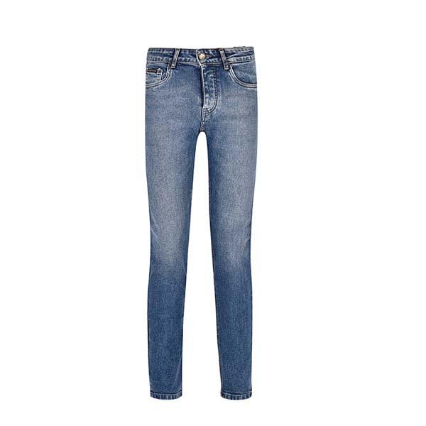 شلوار جین مردانه بادی اسپینر مدل 2575 کد 2  رنگ آبی