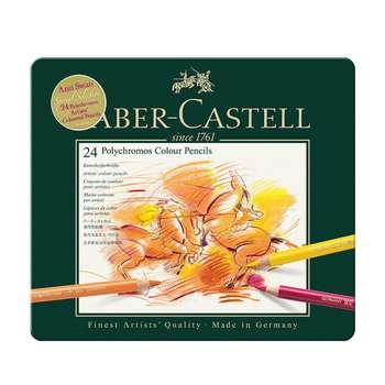 مداد رنگی 24 رنگ فابر کاستل مدل پلی کروم