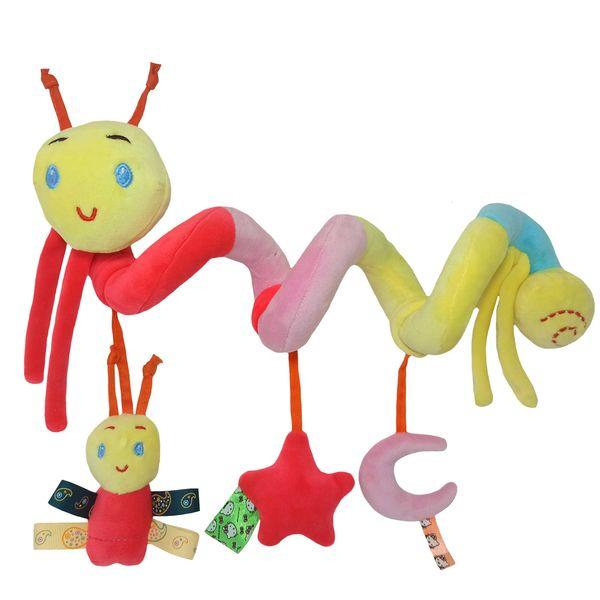 آویز تخت کودک طرح کرم مدل مارپیچ کد A00