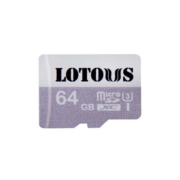 بررسی و {خرید با تخفیف} کارت حافظه microSDXC لوتوس مدل 600X کلاس 10 استاندارد UHS-I U3 سرعت 90MBps ظرفیت 64 گیگابایت اصل
