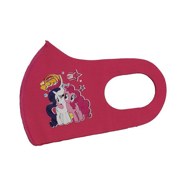 ماسک تزیینی بچگانه طرح PONY کد 30684 رنگ صورتی