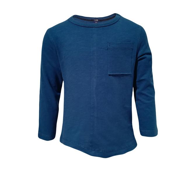 تی شرت آستین بلند پسرانه کیابی کد 10065-1