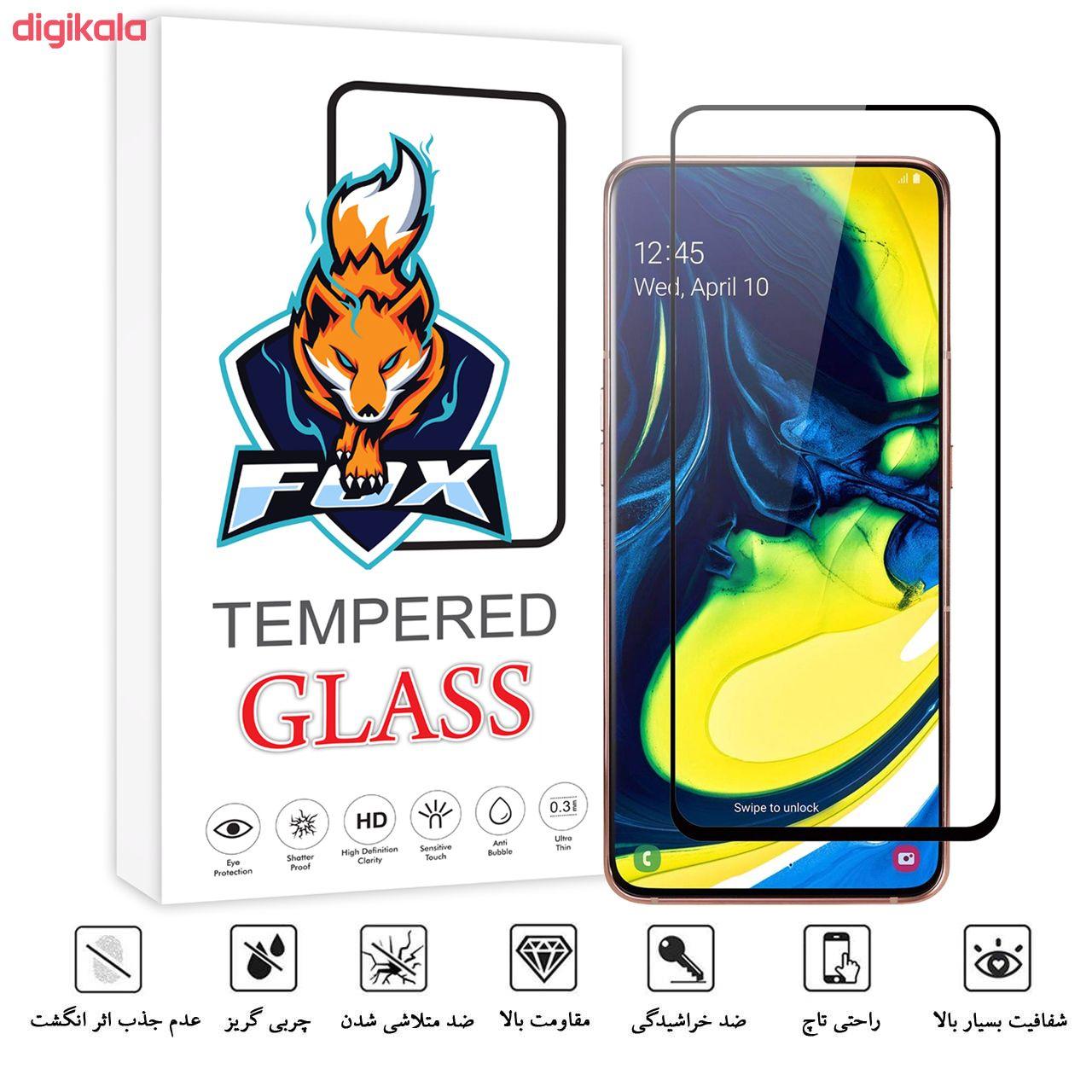 محافظ صفحه نمایش فوکس مدل PT001 مناسب برای گوشی موبایل سامسونگ Galaxy A80 main 1 2