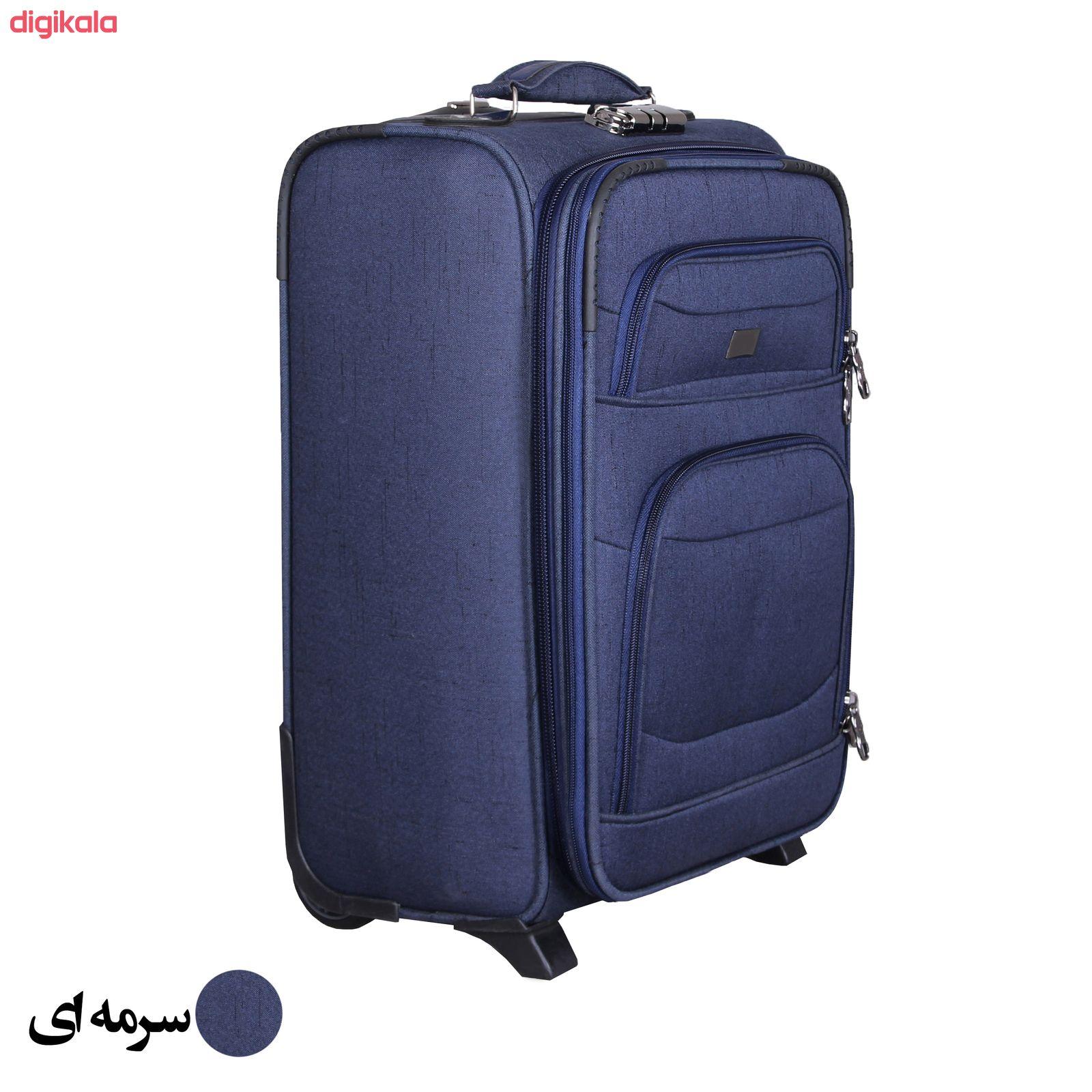 مجموعه سه عددی چمدان کد 2301A main 1 3