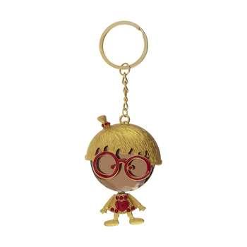 جا کلیدی زنانه طرح عروسک عینکی کد AFR00252