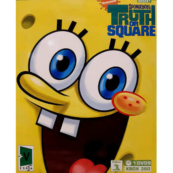 بازی SPONGEBOB'S TRUTH OR SQUARE مخصوص Xbox 360