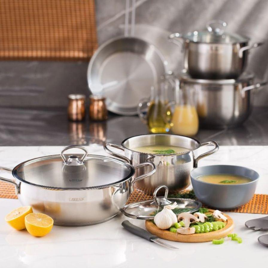 سرویس پخت و پز 9 پارچه لاویلوکس مدل آلفا