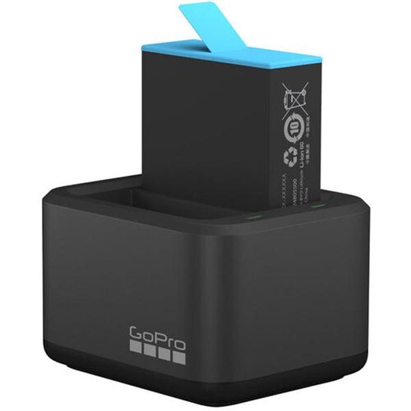 شارژر دوقلوی باتری گوپرومدل SUN0085 مناسب برای باتری GOPRO HERO9