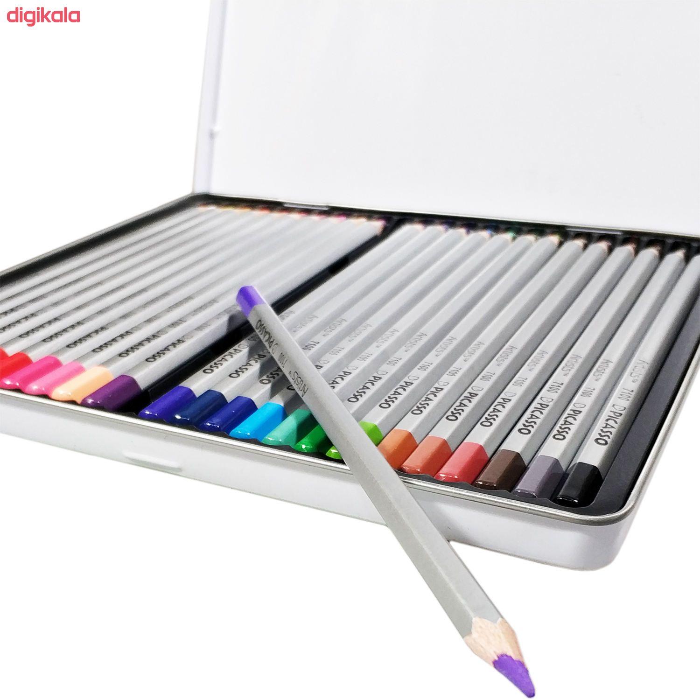 مداد رنگی 24 رنگ پیکاسو مدل Artist main 1 5