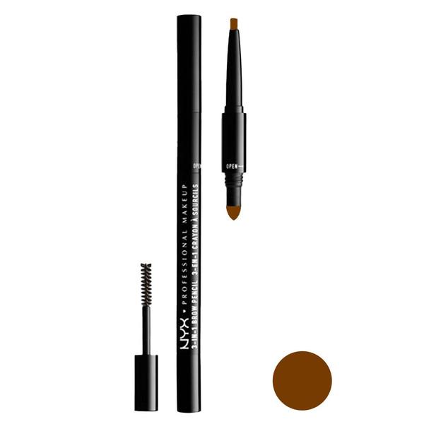 مداد ابرو نیکس مدل 3in1