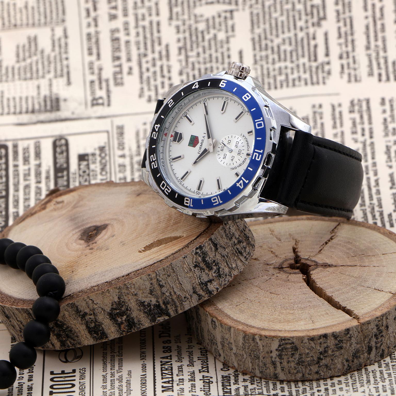 ساعت مچی عقربهای مردانه مدل FO 2949 - ME-SE-AB                     غیر اصل