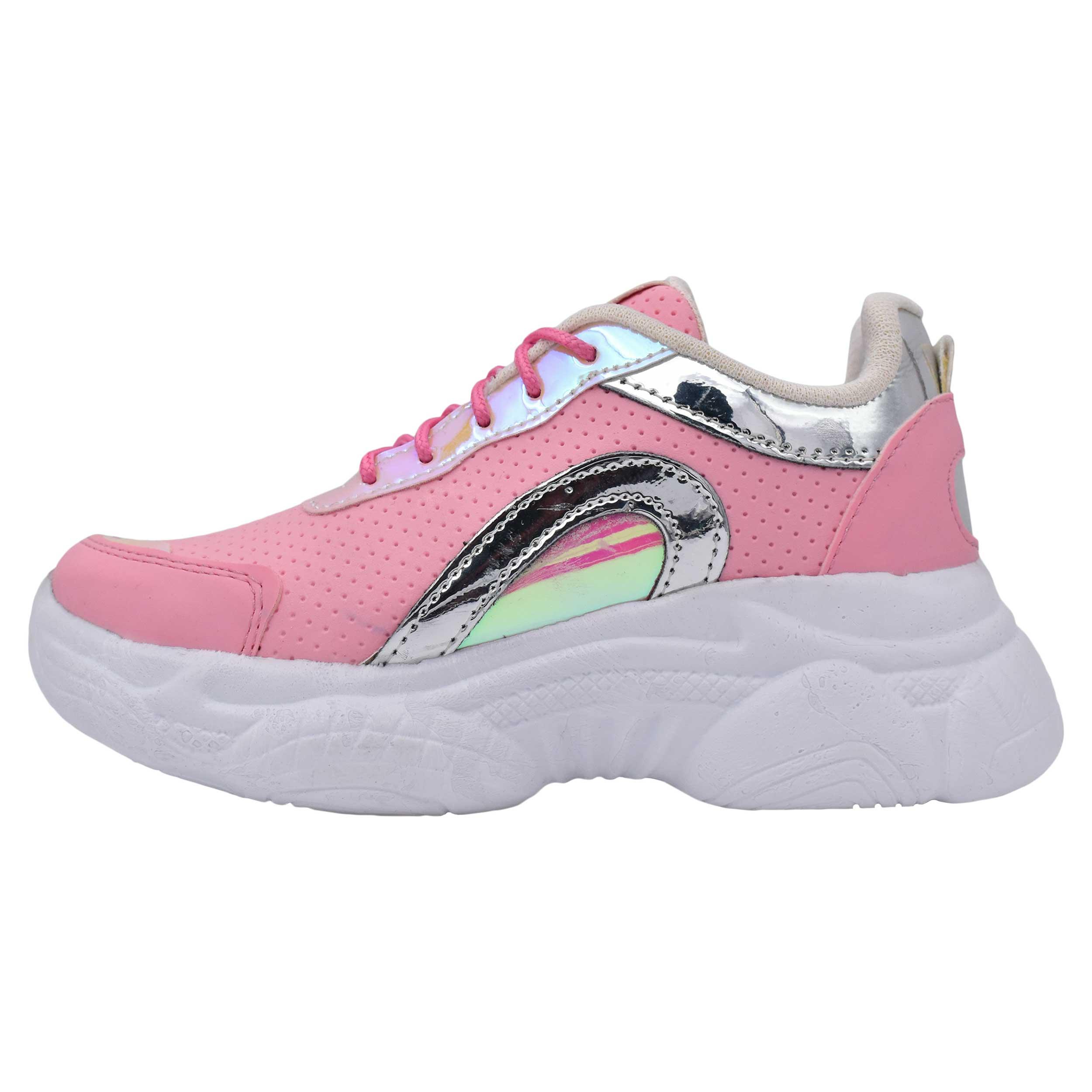 کفش مخصوص پیاده روی دخترانه کد 7564