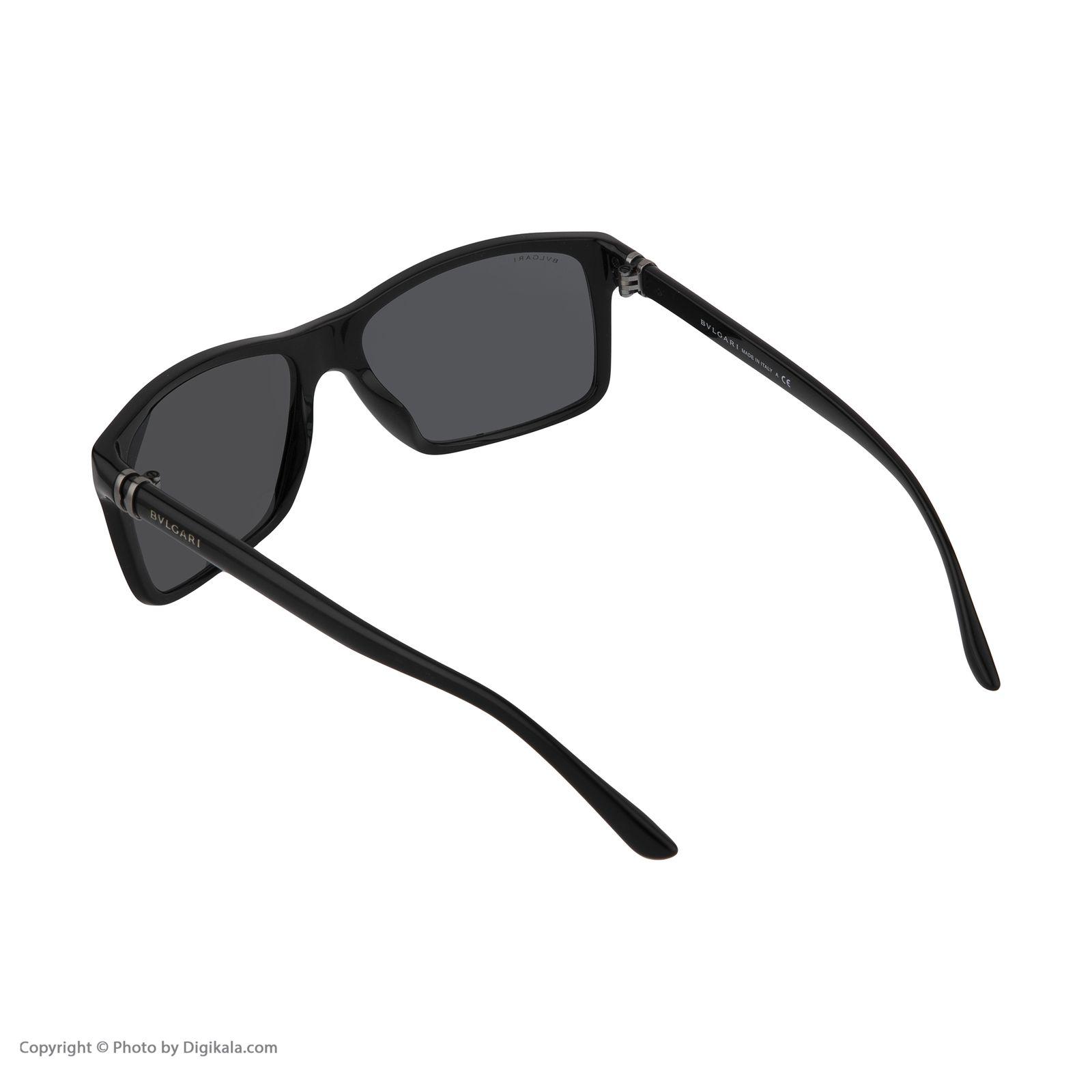 عینک آفتابی زنانه بولگاری مدل BV7015S 50187 -  - 5