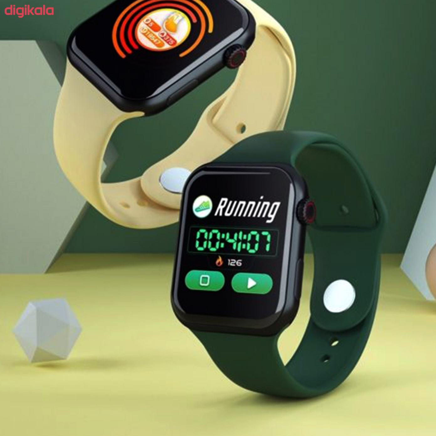 ساعت هوشمند مدل  Z9 main 1 7