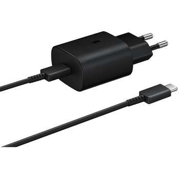 شارژر دیواری سامسونگ مدل EP-TA800 به همراه کابل تبدیل USB-C