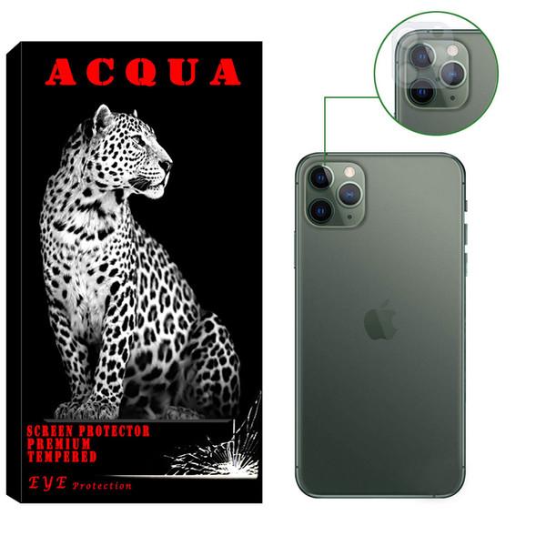 محافظ لنز دوربین آکوا مدل LN مناسب برای گوشی موبایل اپل IPHONE 11 PRO
