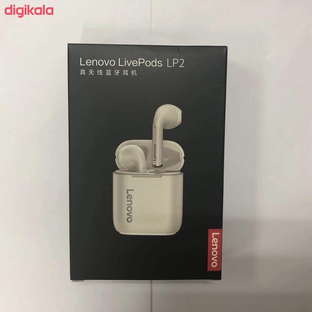 هدفون بلوتوثی لنوو مدل Livepods LP2 main 1 21