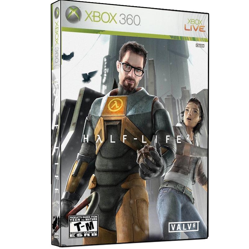 بررسی و {خرید با تخفیف} بازی Half Life 2 The Orange Box مخصوص XBOX 360 اصل