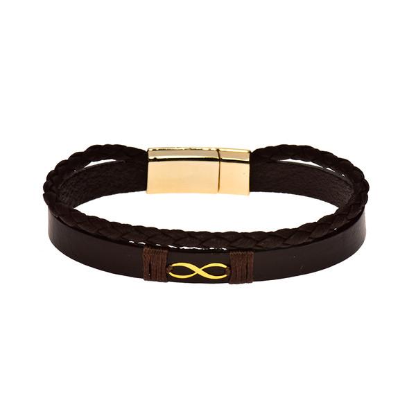دستبند طلا 18 عیار زنانه کرابو مدل Kr1036