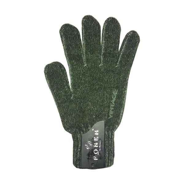 دستکش مردانه فونم مدل fo5524 رنگ یشمی