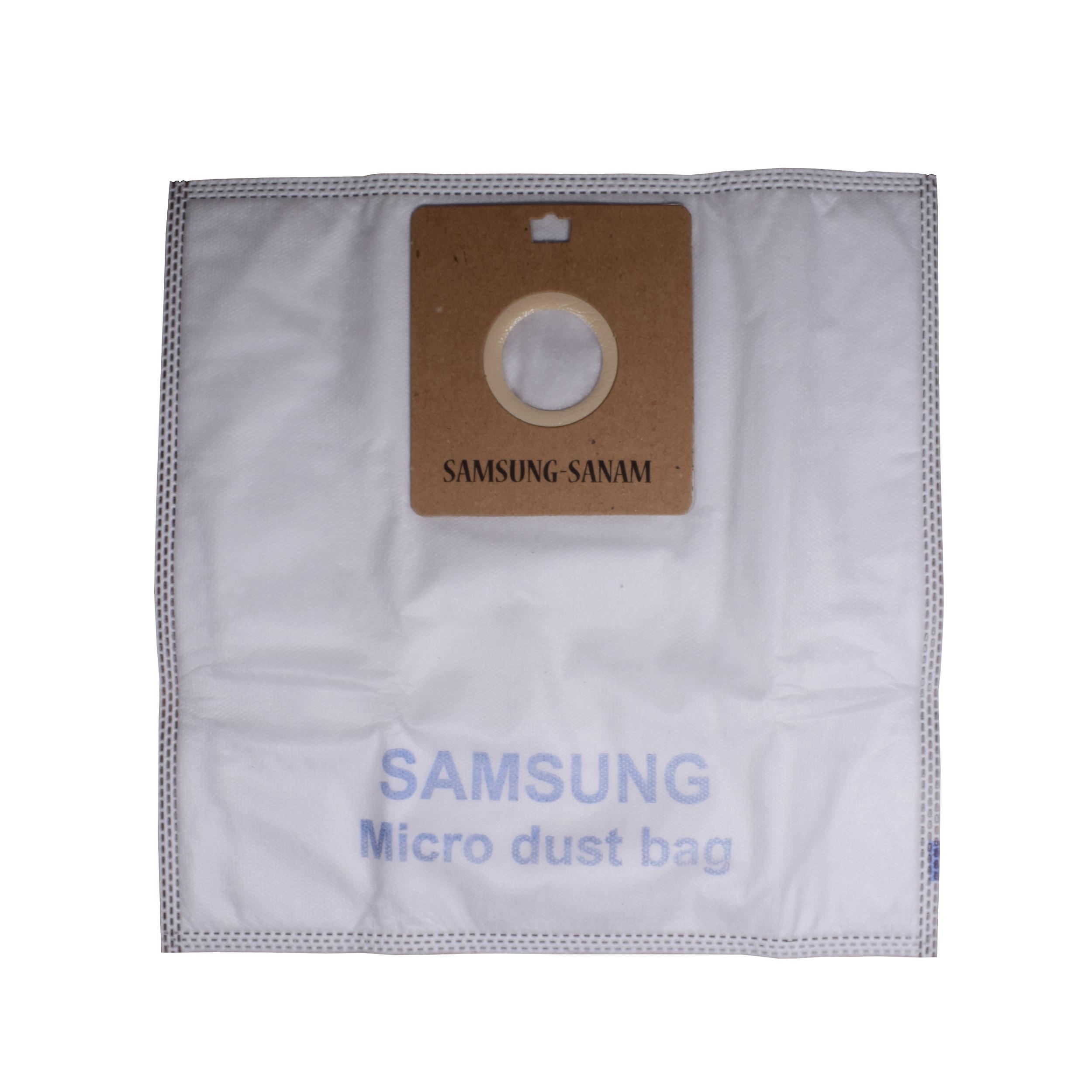 کیسه جاروبرقی مدل میکرو بسته 5 عددی مناسب برای انواع جارو برقی سامسونگ