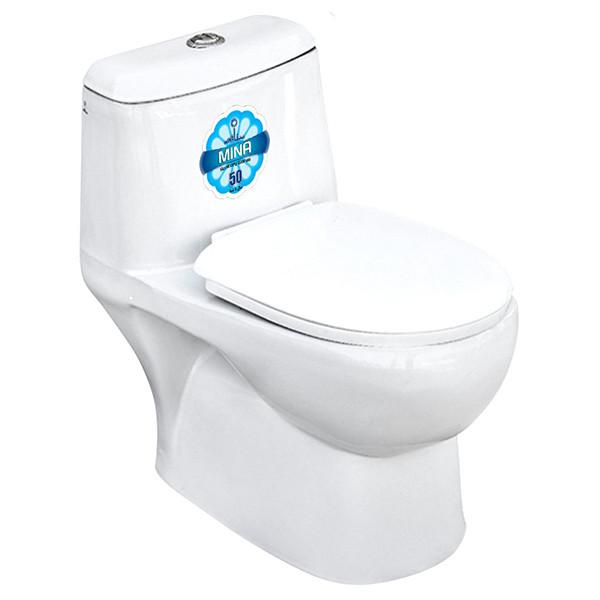 توالت فرنگی مینا مدل برلیان