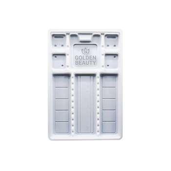 سینی یکبارمصرف دندانپزشکی گلدن بیوتی مدل X50
