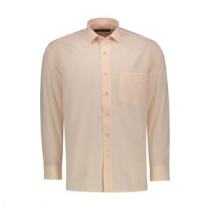 پیراهن آستین بلند مردانه مدل G.Ol554 v رنگ گلبهی