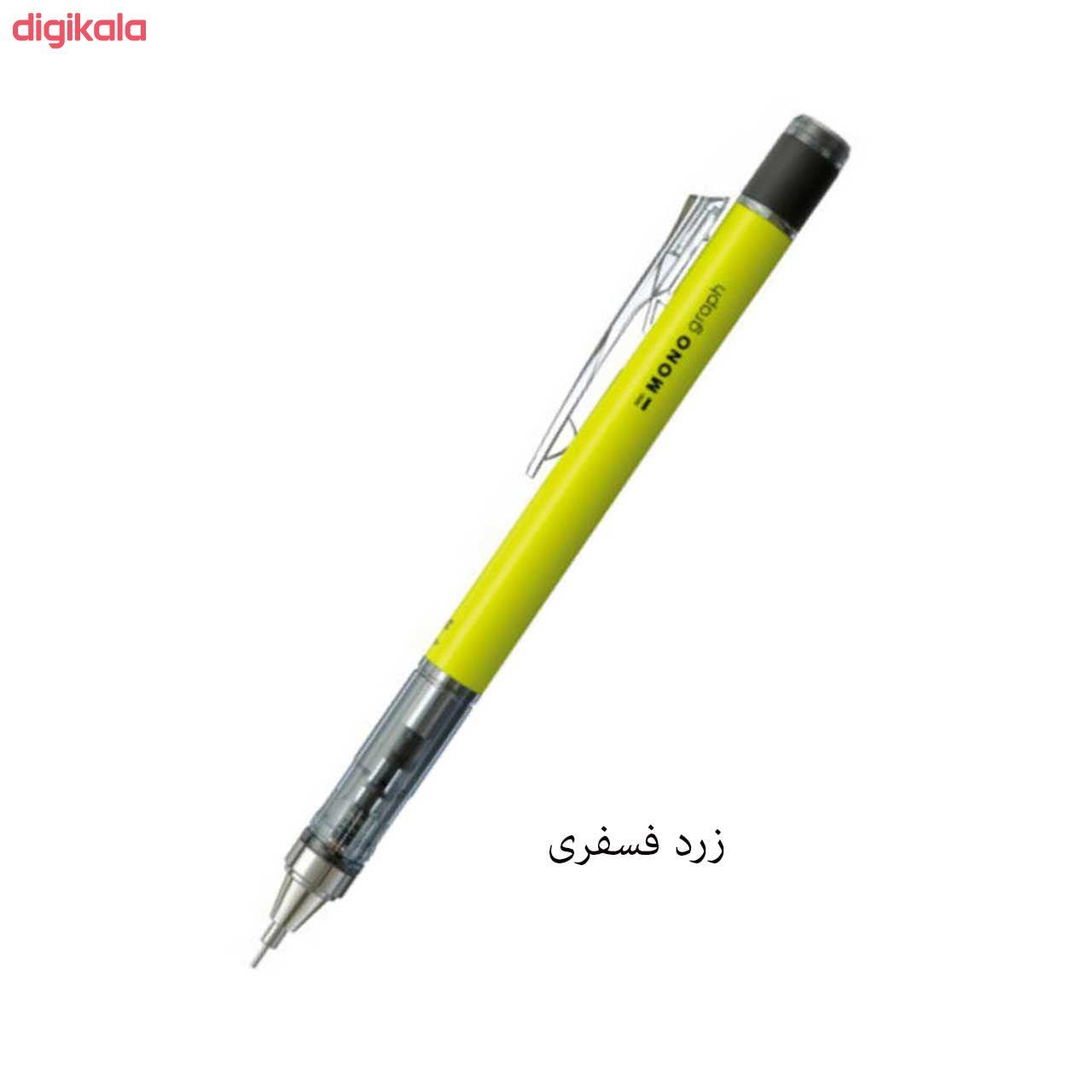 مداد نوکی 0.5 میلی متری تومبو مدل MONO GRAPPH main 1 6