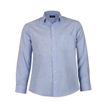 پیراهن آستین بلند مردانه ناوالس مدل NOx8020-BL