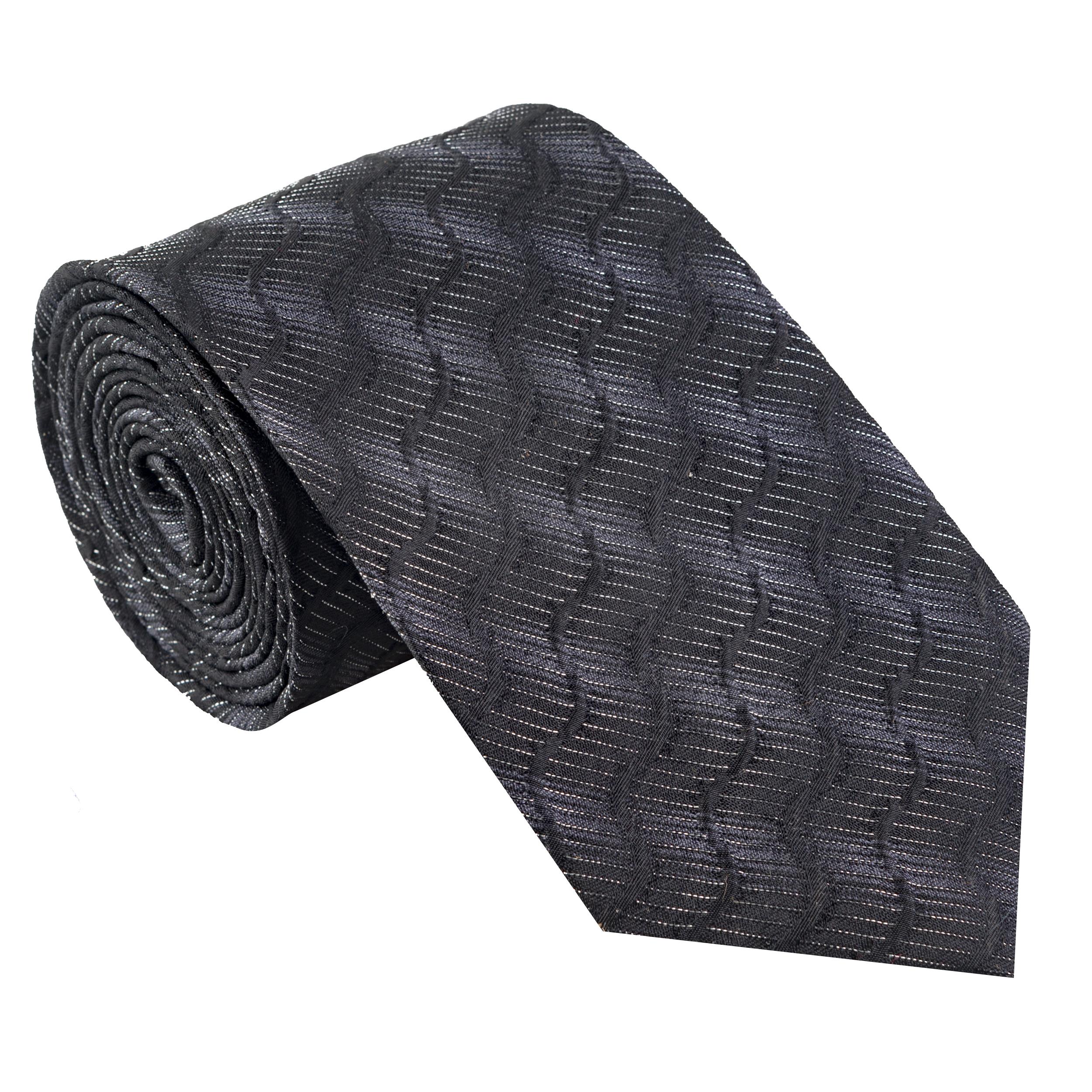 کراوات مردانه جیان فرانکو روسی مدل GF-ST522-BK
