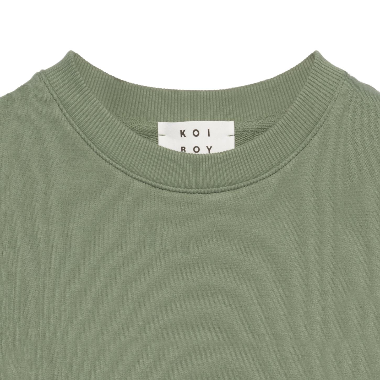 سویشرت مردانه کوی مدل 402 رنگ سبز -  - 4