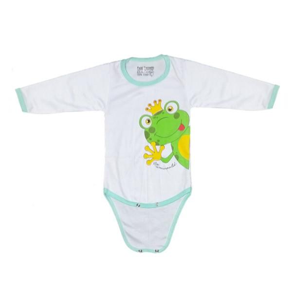 بادی آستین بلند نوزادی کد N11