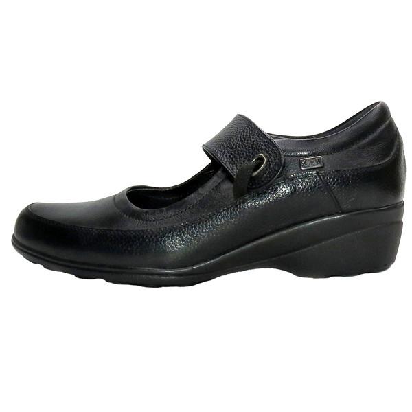 کفش روزمره زنانه آر اند دبلیو مدل 484 رنگ مشکی