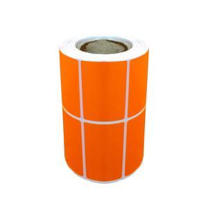 برچسب نارنجی پرینتر لیبل زن مدل 2535 Label_land