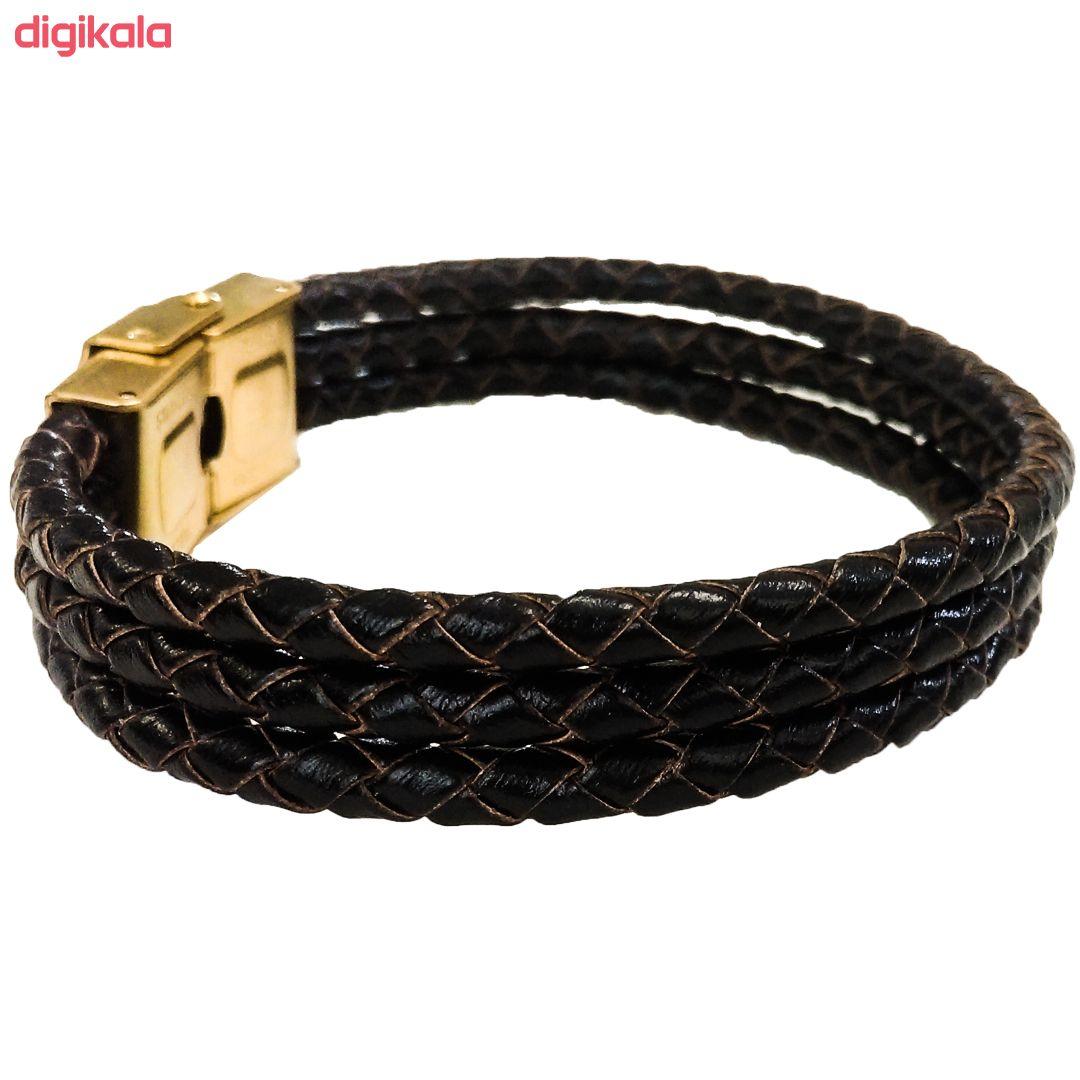 دستبند چرم وارک مدل دایان کد rb322 main 1 5