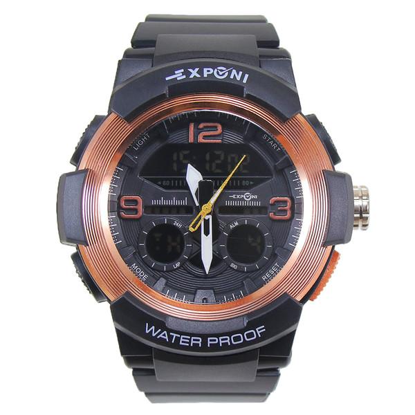 ساعت مچی عقربه ای مردانه اکسپونی مدل EP3268-RG