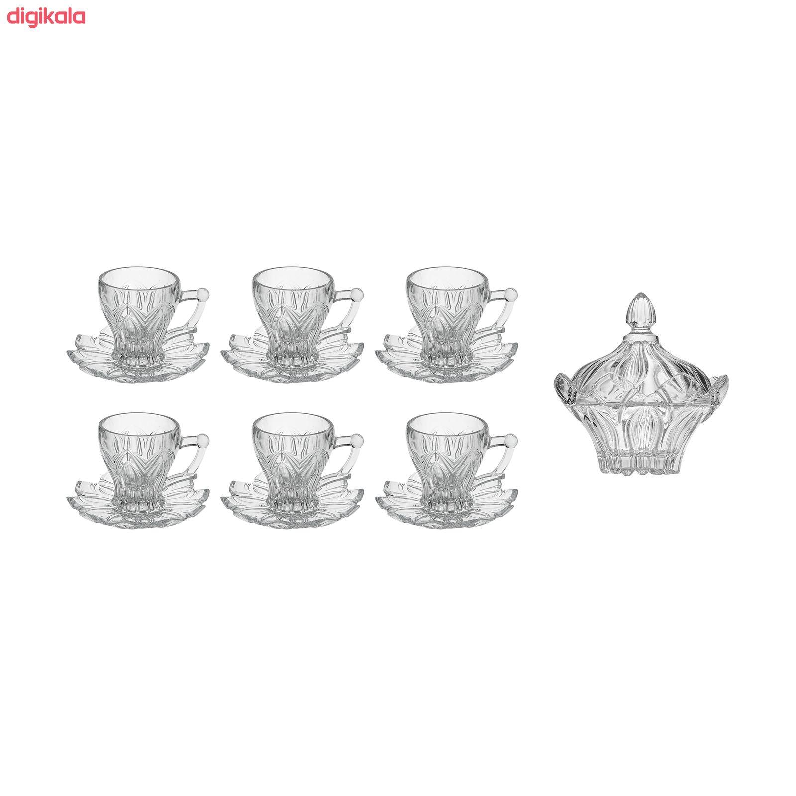 سرویس چای خوری 14 پارچه ساکورا مدل ویلا کد 572102W main 1 13
