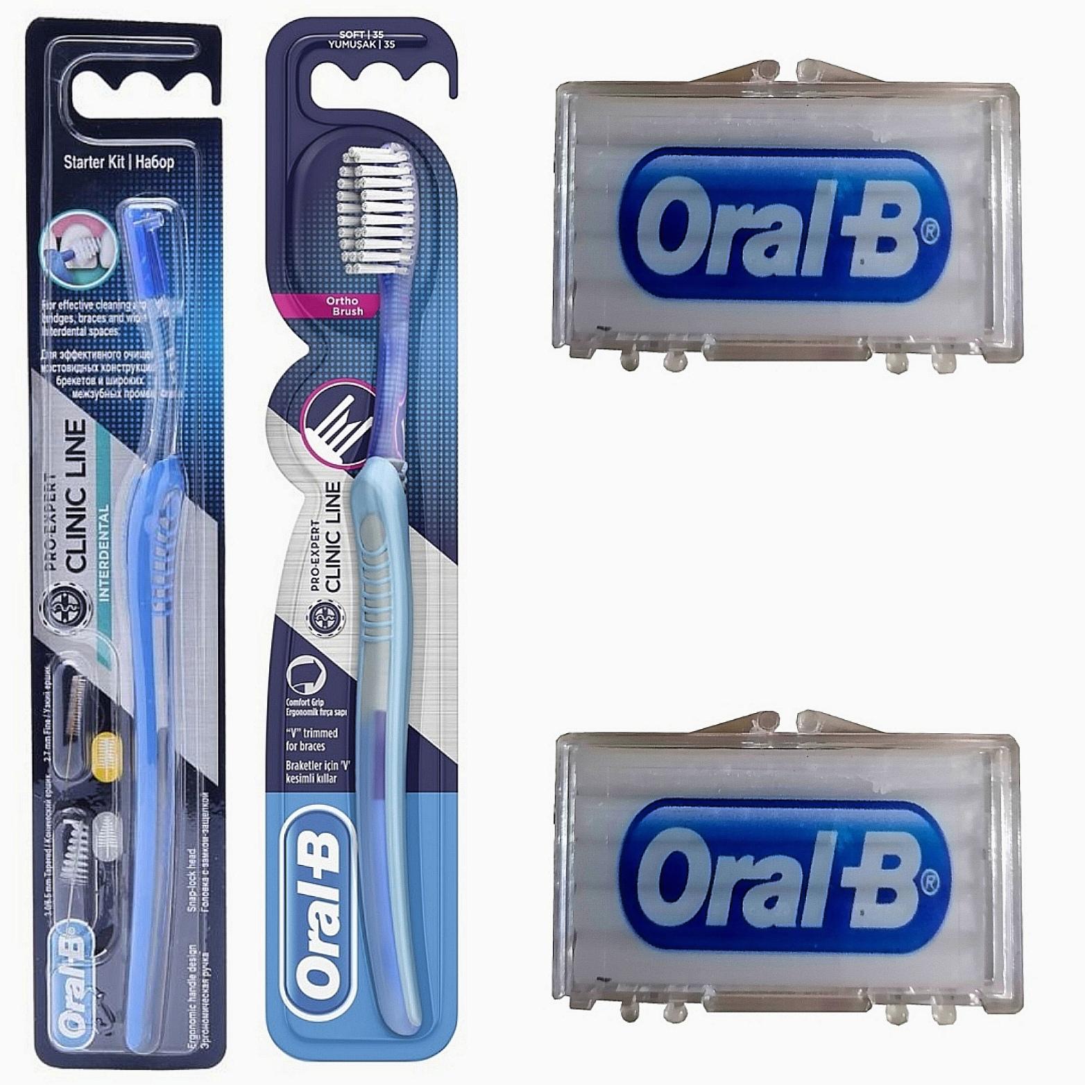 مجموعه مراقبت از دندان اورال بی مدل ارتودنسی کد 001